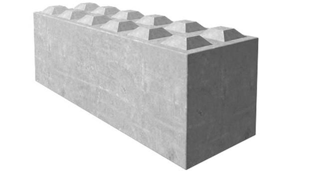 Produit Bloc béton empilable
