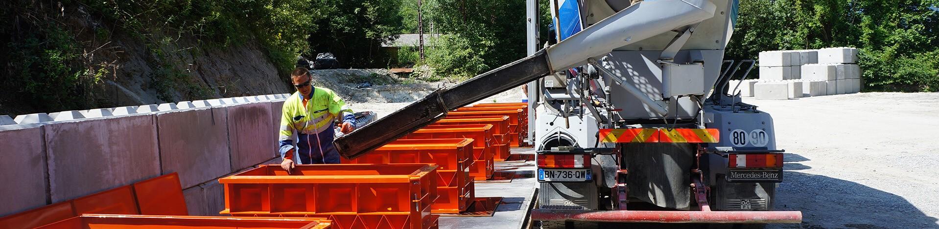 Partenariat avec fabricant de bloc béton